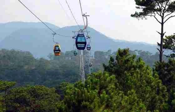 Cable Cars in Dalat