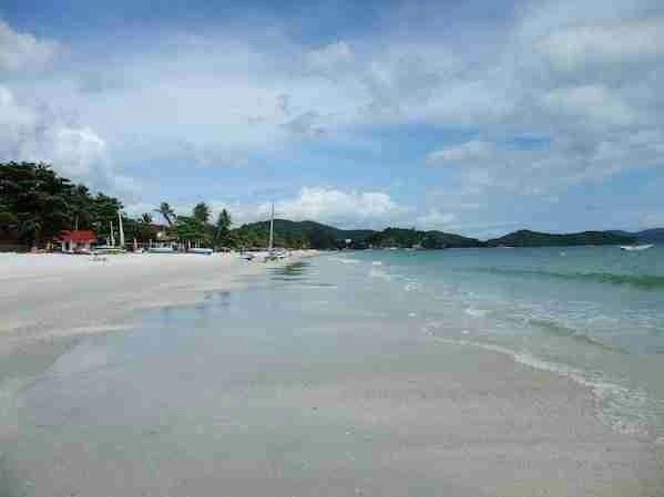Pantai Cenang Beach in Langkawi Malaysia