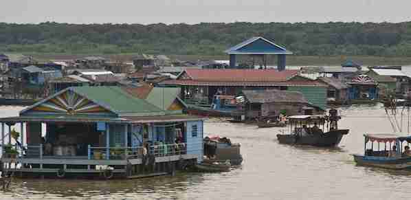 Float Village on Tonle Sap