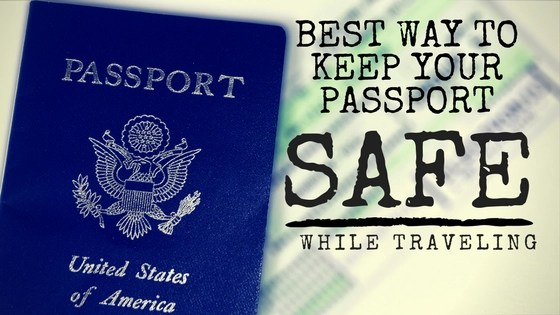Keep Your Passport Safe while Traveling Logo