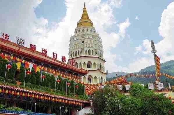 Old Kek Lok Si Temple Penang Malaysia
