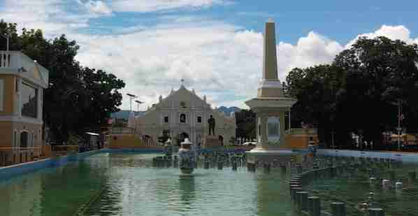 Plaza Salcedo in Vigan