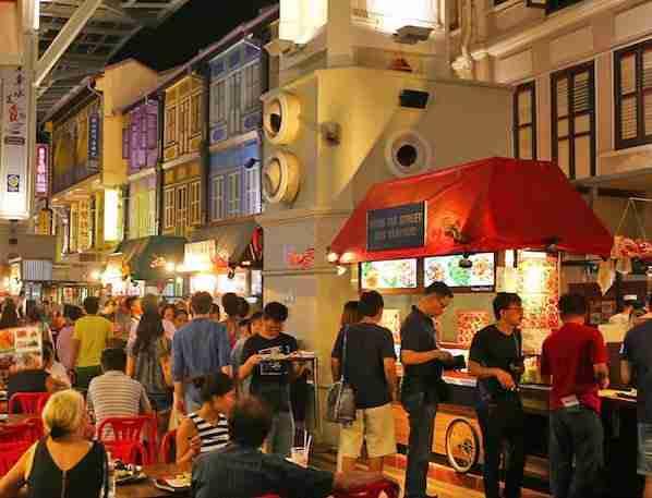 Chinatown Street Food in Chinatown Singapor