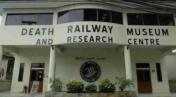 Death Railway Museum in Kanchanaburi Thailand