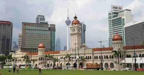 Merdeka Square in Malaysia