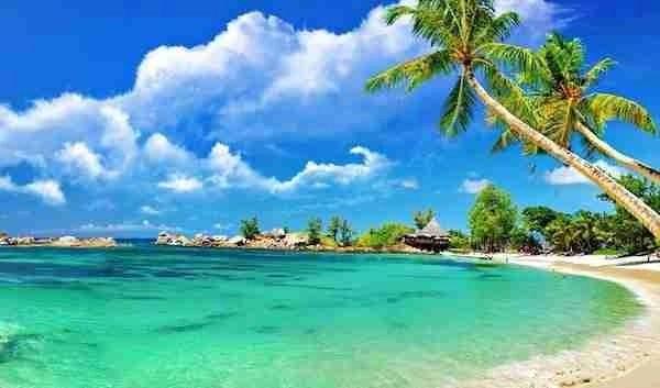 Ba Dong Beach Vietnam