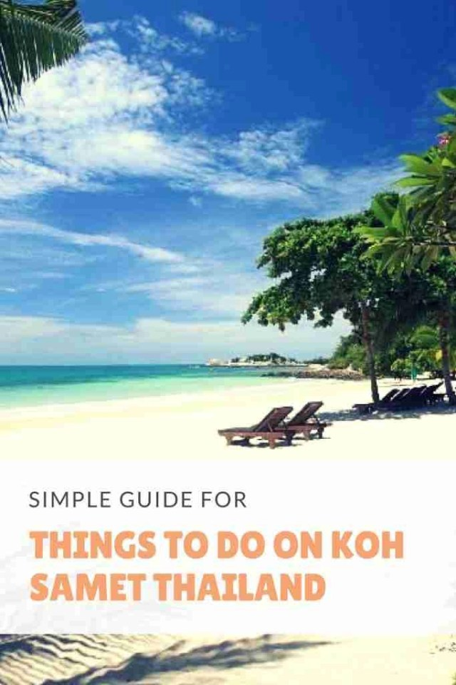Simple Guide For Things To Do in Koh Samet Thailand