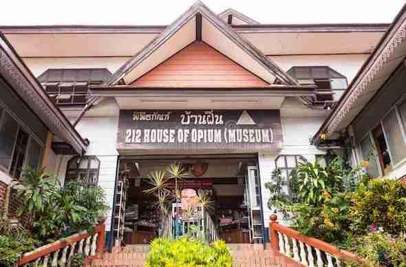 Hall Of Opium museum in Chiang Rai