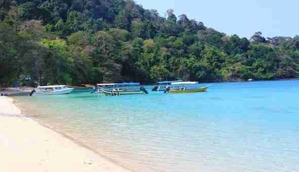 Tenggol Island in Malaysia