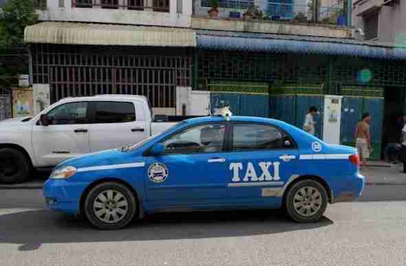 Metered Taxi in Cambodia