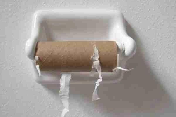 No Toilet Paper?