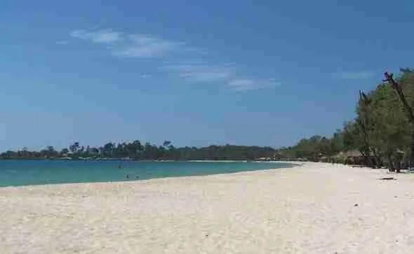 Sokha Beach in Cambodia