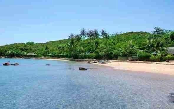 Whale Island in Vietnam