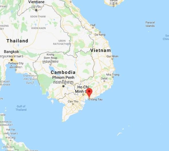 Where is Vung Tau Vietnam