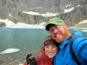 In Glacier National Park, 2014
