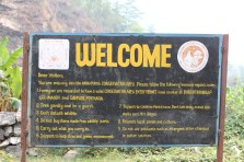 Entering the Annapurna Conservation Area, we purchased tickets and were given a short guidebook with some instructions to respect the local culture.