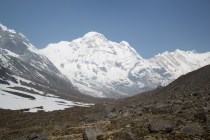 This photo is indicative of what the walk to the Base Camp was like. It was stunning.