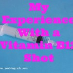 My experience with a B12 shot