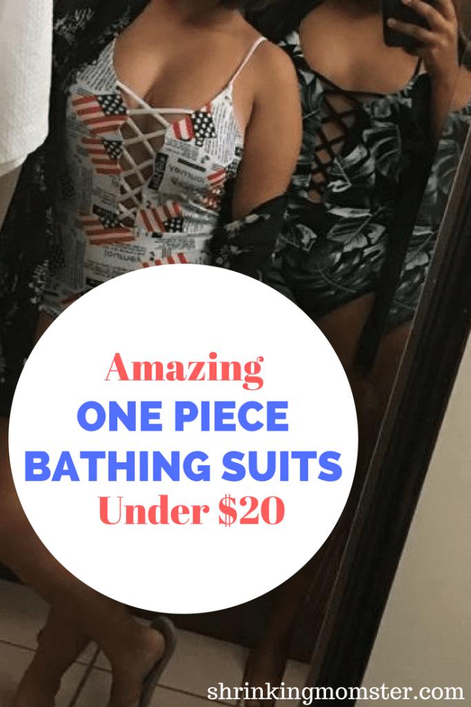 Amazing One Piece Bathing Suits Under $20