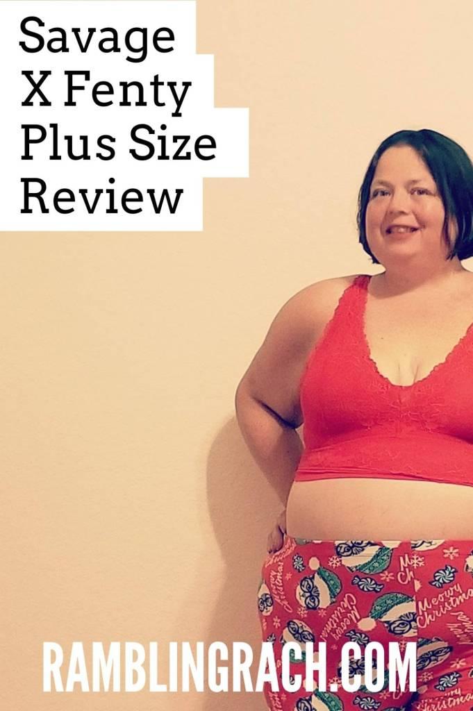Savage X Fenty Plus Size Bralette Review