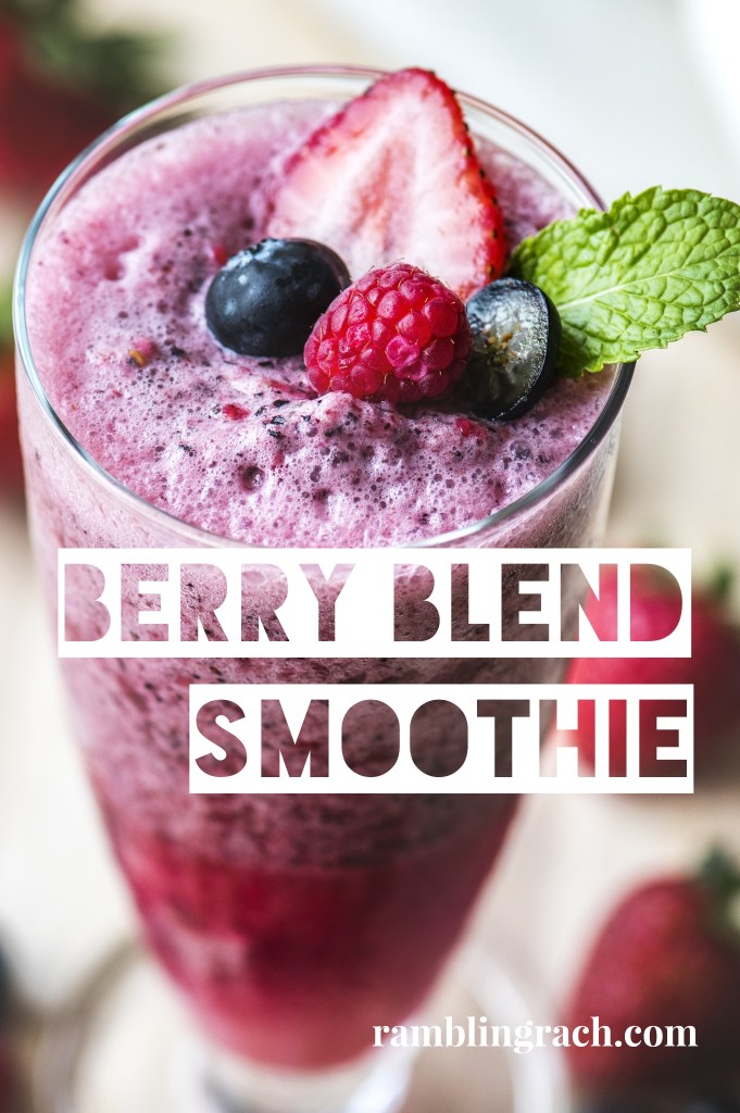 Berry Blend Green Smoothie Recipe