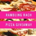 Free pizza giveaway at Ramblingrach.com