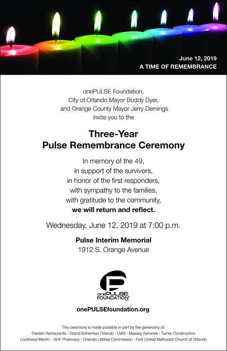 Pulse remembrance day event