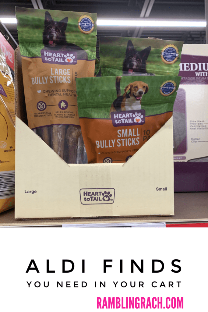 Aldi pet supplies - bully sticks