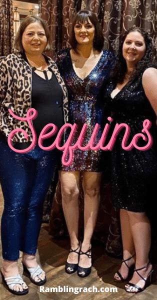 Birthday sequins