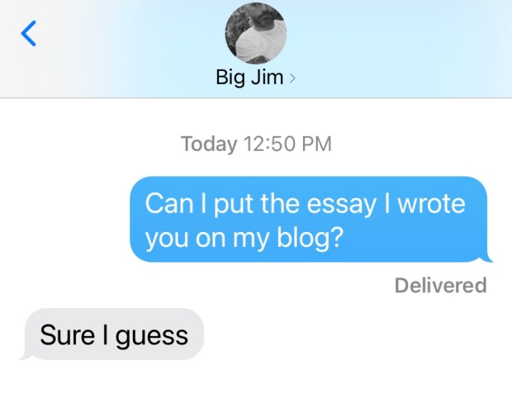 """My friend James consented to me publishing a piece called """"5 Reasons My Friend James Is the Worst"""""""