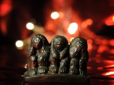 Photo of 3 wise monkeys ornament