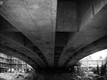 Photo of the underside of Greyfriars Bridge