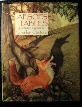 Photo of Aesop's Fables Book