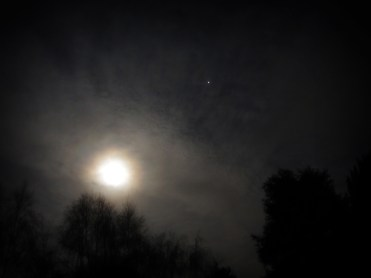 Photo of full moon in March