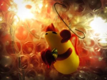 Photo of rat decoration