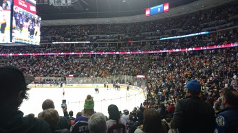 Standing ovation for a fight
