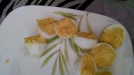 The deviled eggs went fast