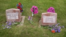 My grandpa and grandma Mutchler. She died of COPD and he died of cancer.