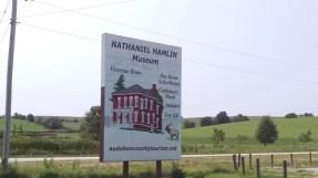 Nathaniel Hamlin park & museum
