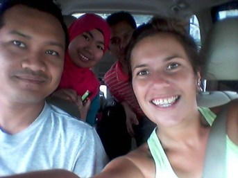 Malaysian family I hitchhiked with in Cameron Highlands