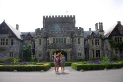 Girls' day out at Hatley Castle