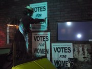 Here, here sister Suffragette!