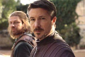"""Little Finger posing with former """"Bestie"""" Ned Stark."""