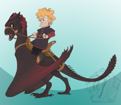 Tyrion so deserves a dragon!