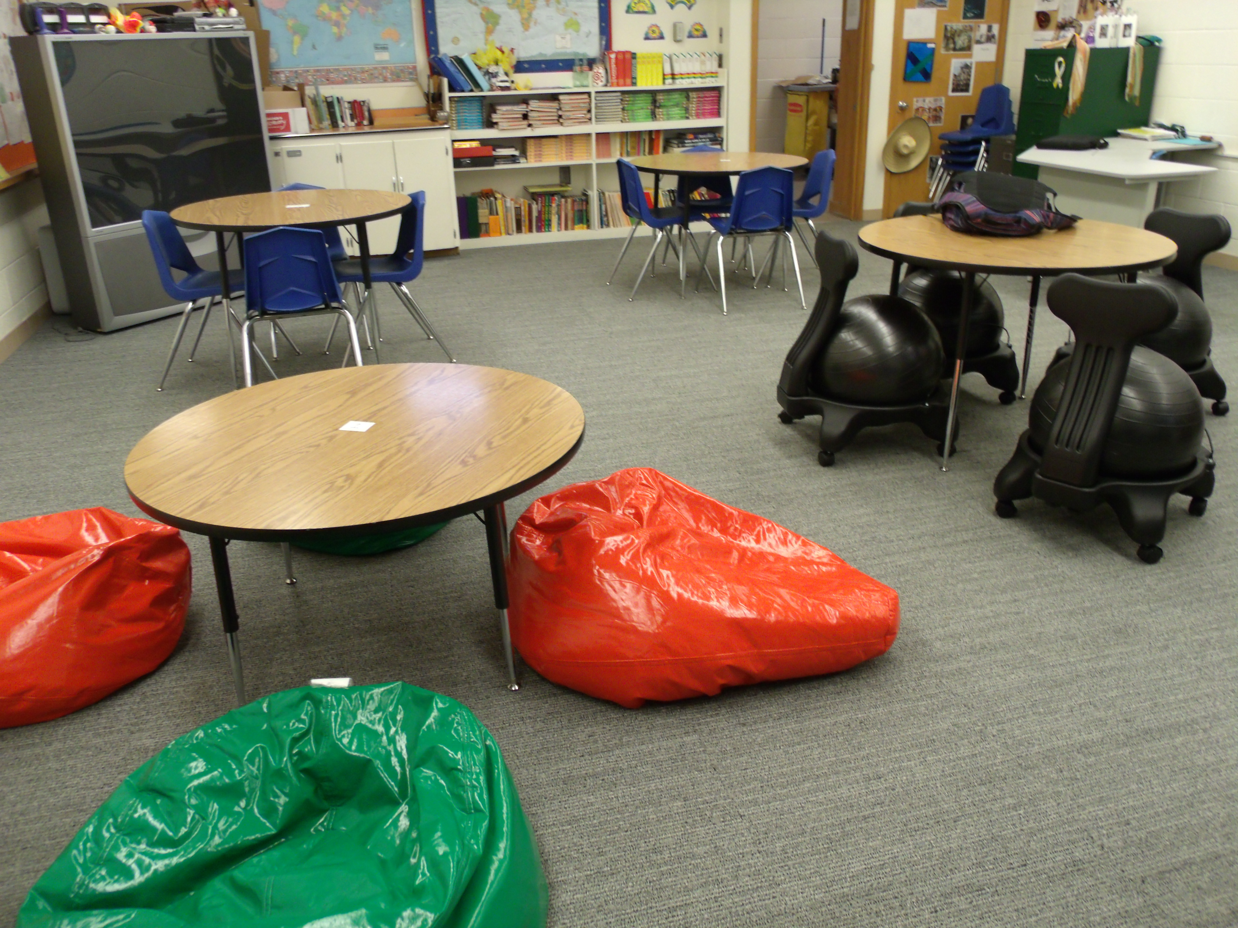 Cool Bean Bag Chairs Ball Chairs In The Classroom Ramblings Of A Perforated Mind