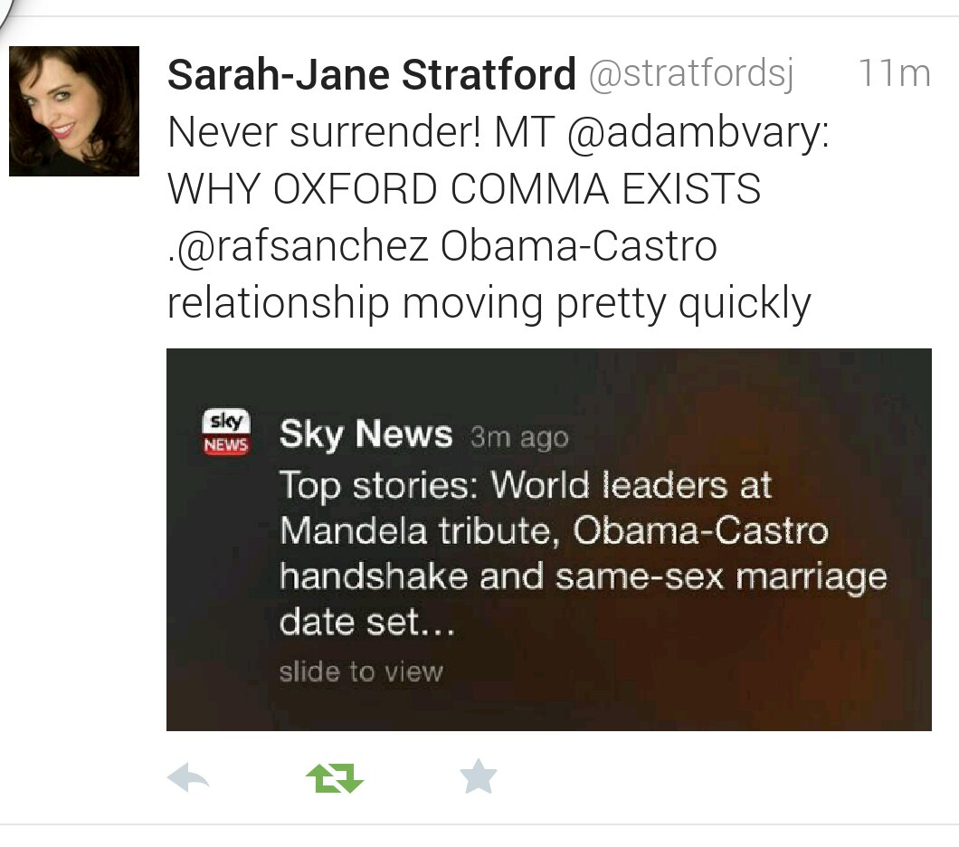 The Importance Of Commas