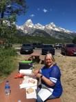 Grand Teton Picnic