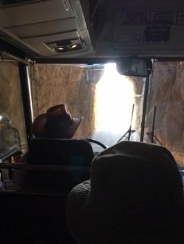 Narrow Tunnel on 16A