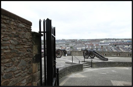 Derry's Walls - Double Bastion