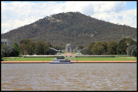 Looking across the Lake to Mt Ainslie